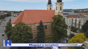 Híradó: Megújul a templom