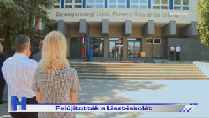 Híradó: Felújították a Liszt-iskolát