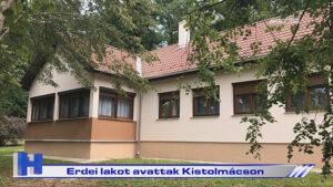Erdei lakot avattak Kistolmácson