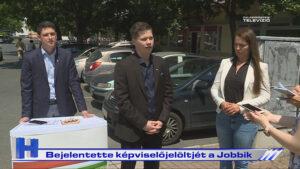 Híradó: Bejelentette képviselőjelöltjét a Jobbik