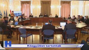 Híradó: Közgyűlést tartottak