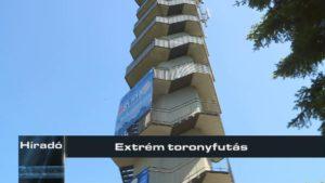 Extrém toronyfutás