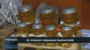 A mézet népszerűsítették