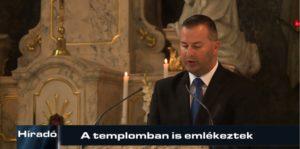 Híradó: A templomban is emlékeztek