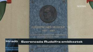 Szerencsés Rudolfra emlékeztek