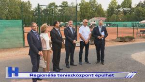 Híradó: Regionális teniszközpont épülhet
