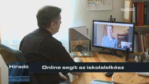 Online segít az iskolalelkész
