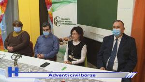 Híradó: Adventi civil börze