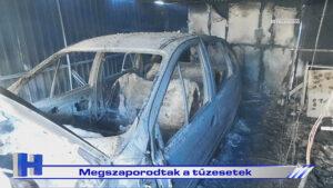 Híradó: Megszaporodtak a tűzesetek