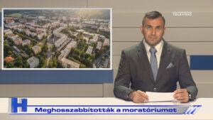 Híradó: Meghosszabbították a moratóriumot