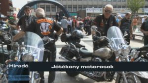 Jótékony motorosok