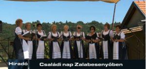 Híradó: Családi nap Zalabesenyőben