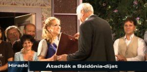 Híradó: Átadták a Szidónia-díjat