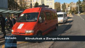 Elindultak a Zerge-buszok