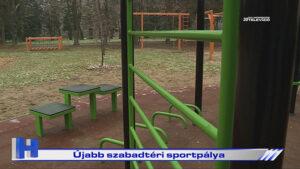 Híradó: Újabb szabadtéri sportpálya