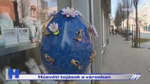 Húsvéti tojások a városban