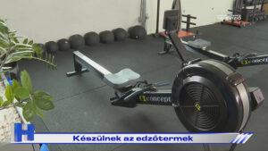 Készülnek az edzőtermek