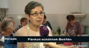 Fánkot sütöttek Botfán