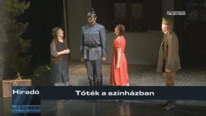 Tóték a színházban