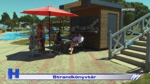 Híradó: Strandkönyvtár