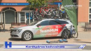Híradó: Kerékpáros kedvcsináló