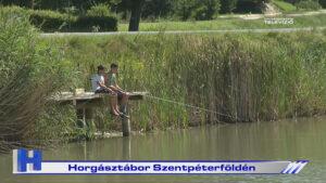 Horgásztábor Szentpéterföldén