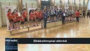 Diákolimpiai döntő