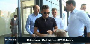 Híradó: Stieber Zoltán a ZTE-ben