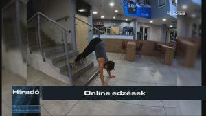 Híradó: Online edzések