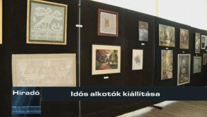 Híradó: Idős alkotók kiállítása
