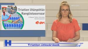 Híradó: Triatlon útlezárások