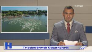 Híradó: Triatlon-érmek Keszthelyről