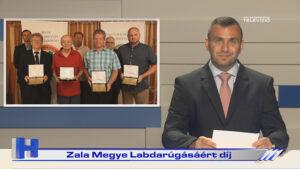 Híradó: Zala Megye Labdarúgásáért díj