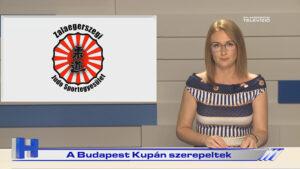 Híradó: A Budapest Kupán szerepeltek